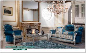 sofa ruang tamu rodeo mewah klasik model terbaru sst-410
