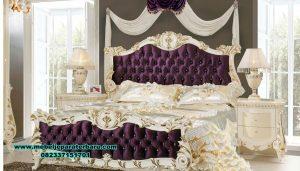 set tempat tidur rania queen luks klasik stt-243