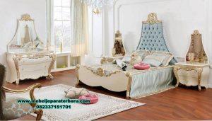 tempat tidur bed room set king sultan klasik luxury stt-245