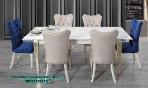 kursi makan mewah modern porche smm-408