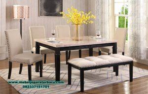 model meja makan set minimalis sederhana larusso smm-412