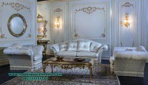 model set sofa tamu modern mahogany wood termewah sst-426