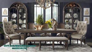 produk set meja makan dining room jati klasik smm-410