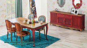 set kursi makan istanbul country jati minimalis smm-405