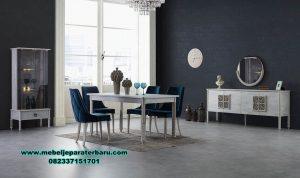 set meja makan napoli odasi model minimalis smm-407
