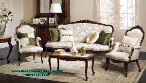 sofa kursi tamu kayu jati model klasik jepara sst-422