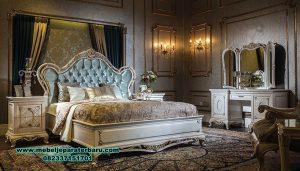 bedroom set white duco klasik mewah beautiful stt-268