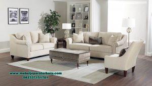 set kursi tamu sofa jati model minimalis original sst-431