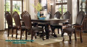 set meja kursi makan model exclusive termewah smm-427
