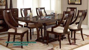 set meja makan chelsea terbaru model minimalis smm-418