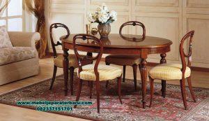set meja makan minimalis model jepara terbaru smm-417