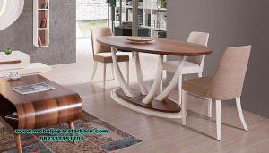set meja makan modern minimalis rania smm-423