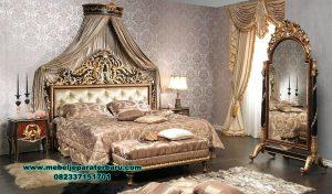 set tempat tidur mewah silvana klasik duco stt-282