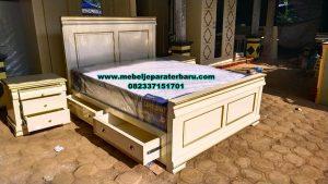set kamar tidur model terbaru minimalis modern zack stt-286