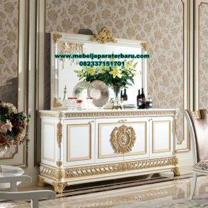 meja bufet rias dan pigura modern mewah mrk-222