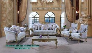 sofa ruang tamu model modern klasik terbaru sst-453
