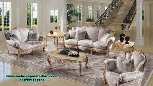 sofa ruang tamu model klasik mewah ukiran sst-454