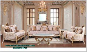 Furniture set kursi tamu veronica klasik eropa Sst-457