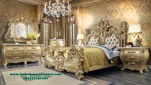 Bedroom set super mewah gold luxury alexaviera Stt-297